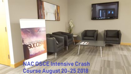 NAC OSCE Intensive crash course